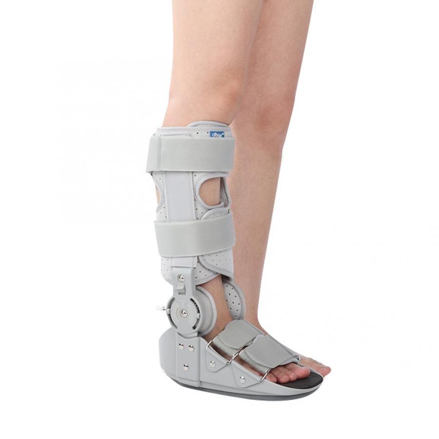 3 rozmiar regulowane wsparcie kostki ochraniacz ze stelażem stawu skokowego stabilizacji złamania orteza na stopę korektor w Szelki i korektory postawy od Uroda i zdrowie na  Grupa 2