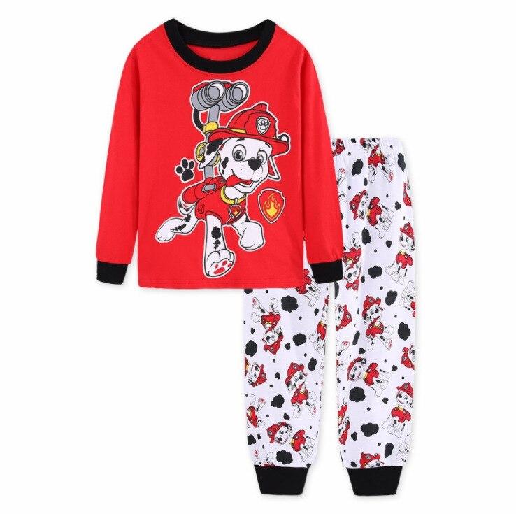 4fcad8ecc Crianças pijama define meninos crianças roupas doces sonhos dos desenhos  animados pijamas meninas tops de manga longa + calças 2 peças de Roupas  Infantil ...