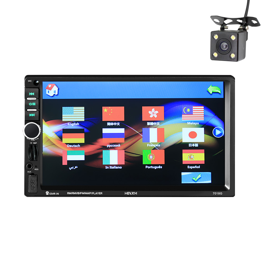 2 Din Car Multimedia Player+GPS Navigation+Camera Map 7 HD Touch Screen Bluetooth Autoradio MP3 MP5 Video Stereo Radio NO DVD2 Din Car Multimedia Player+GPS Navigation+Camera Map 7 HD Touch Screen Bluetooth Autoradio MP3 MP5 Video Stereo Radio NO DVD