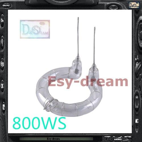 800WS Flash Tube Ring Lamp Bulb For Godox Oubao Jinbei Nice Photo Studio Flash Strobe Lighting