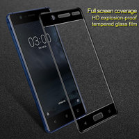 For Nokia 6 3 5 Tempered Glass Fashion IMAK Full Cover Protector Coverage Full Screen Protective