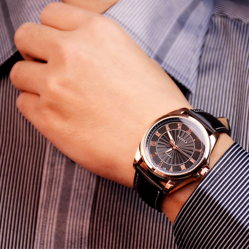 2018 YAZOLE բիզնես տղամարդիկ դիտում են - Տղամարդկանց ժամացույցներ - Լուսանկար 5