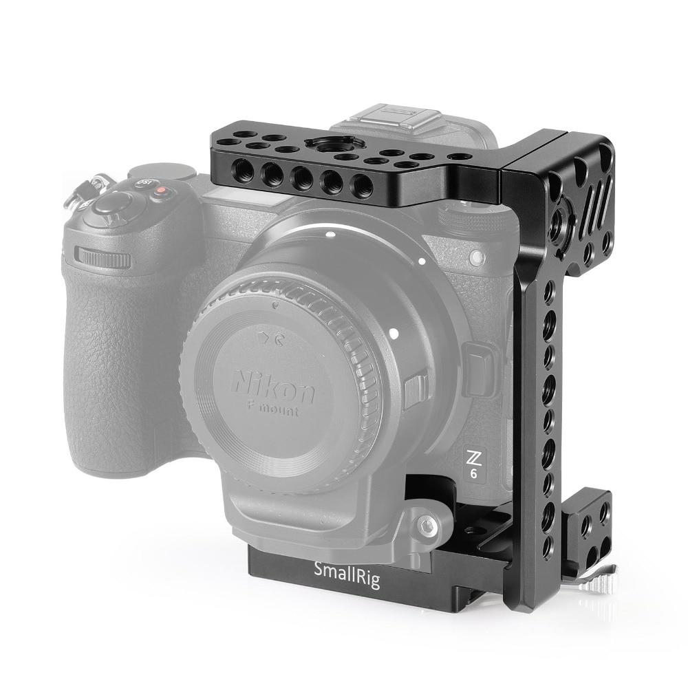 SmallRig Z7 Camera Cage Quick Release Half Cage for Nikon Z6 Camera Nikon Z7 Camera With Manfrotto quick release Plate 2262 in Camera Cage from Consumer Electronics