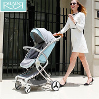 Four Wheels Baby Stroller 2 In 1 Lightweight kinderwagen Folding High Landscape Baby Carriages Stroller For Dolls Yoya Plus