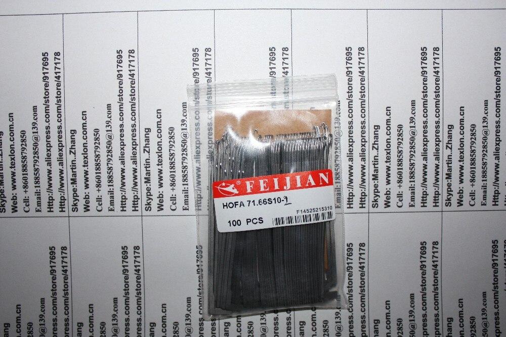 Soosan SS-604U Scoks Machine FeiJian Needles HOFA 71.66 S10-1 / HOFA 71.66 S10-3
