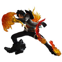 One Piece Action Figures Ace Fire Punch Power DIY Toy Anime One Piece Portgas D Ace Model Figurine Collectible Gifts for Child