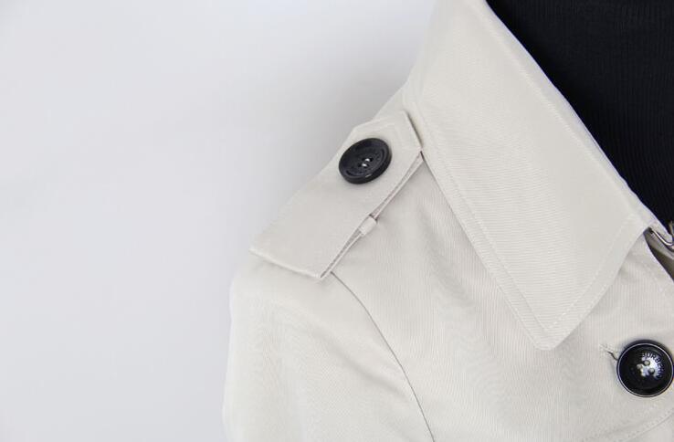 Tranchée Longues Dames Manches Manteau Mode Pardessus Feminino Manteaux Vêtements Européenne De Femme Femmes Printemps Moyen Beige Longueur EqC1n1