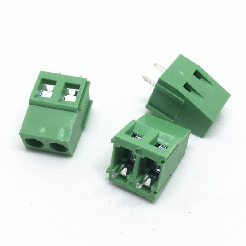 Electrical Equipments & Supplies Free Shipping 100pcs Kf128-5.08-2p+kf128-5.08-3p=100pcs Kf128 5.08mm Spacing Copper Feet Pcb Screw Terminal Block Connector Rohs Terminal Blocks