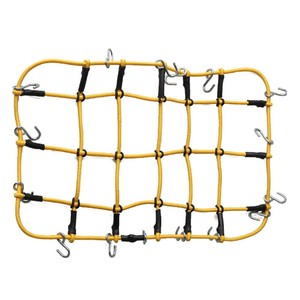 Эластичная багажная сетка на крышу автомобиля, сеть для хранения с крючками, Резиновая лента для осевого SCX10 Net D90 RC4WD Traxxas TRX-4 1:10 RC Car Red