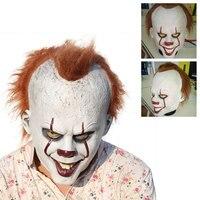 Halloween Clown Maska Straszny Cosplay Costume Sztuczki Żarty Pranks Funny Nowość