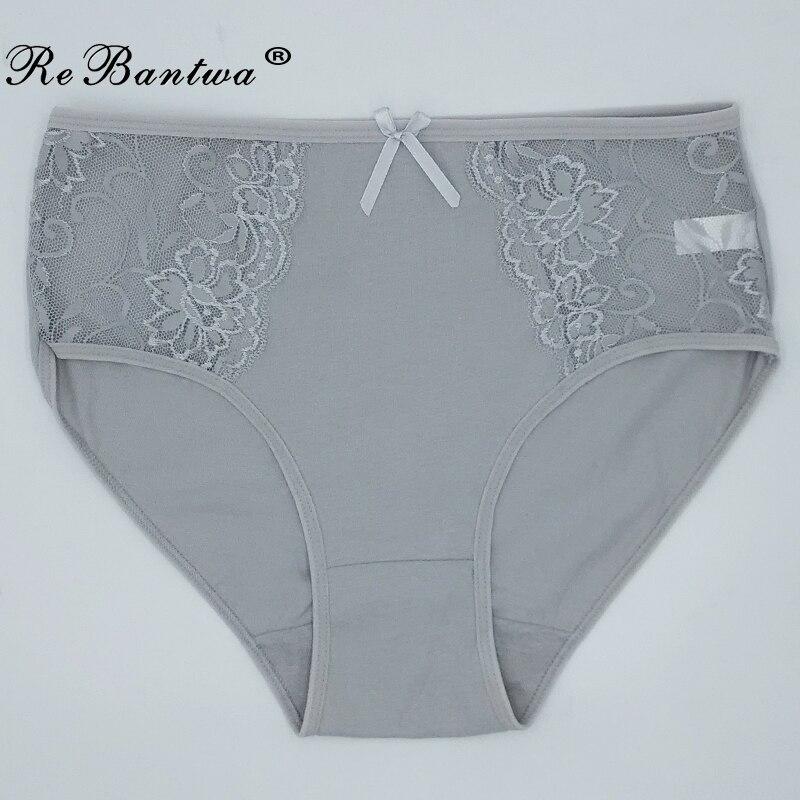 1 pièce grande taille XXL 3XL 4XL 5XL slips femmes sous-vêtements en coton grande taille dentelle respirant slips dames culottes femme Lingeries