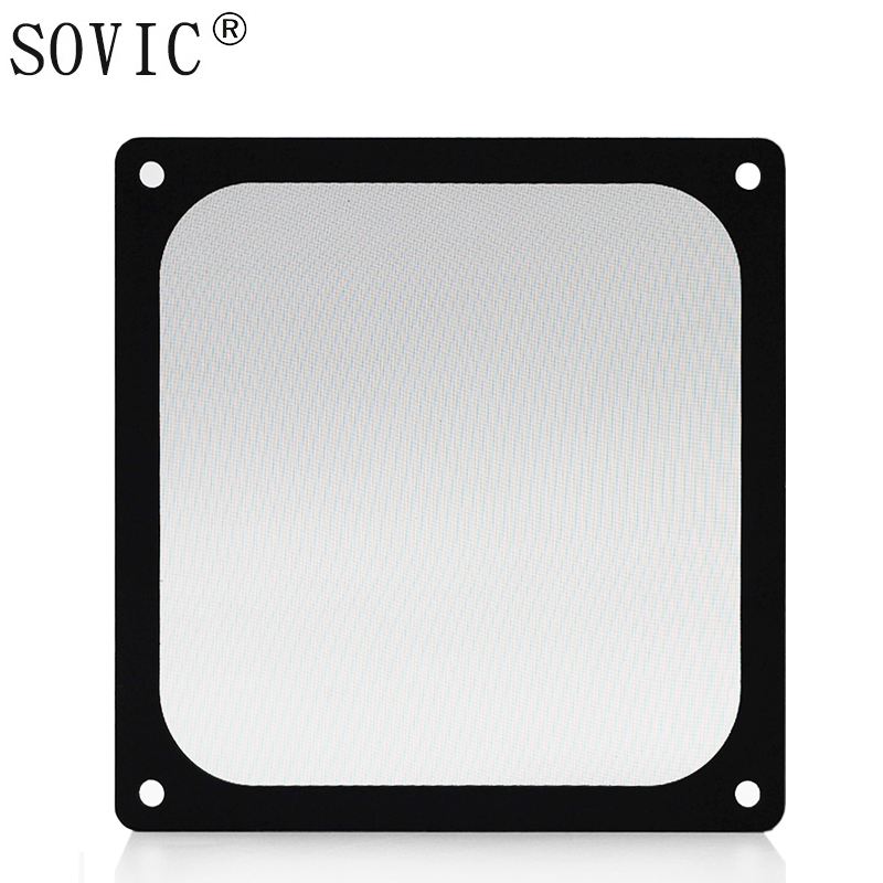 Image 2 - New hot 3PCS 140/120mm size Computer/PC Case Cooling Fan magnetic Dust Filter Dustproof Mesh fan Cover Net Guard 12cm/14cm-in Fans & Cooling from Computer & Office