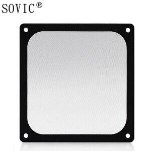 Image 2 - New hot 3PCS 140/120mm size Computer/PC Case Cooling Fan magnetic Dust Filter Dustproof Mesh fan Cover Net Guard 12cm/14cm