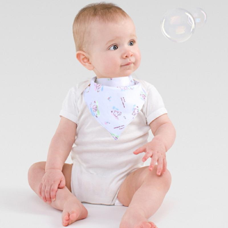 1Pcs Baby Bibs Feeding Stuff Girl Boy Toddler Accessories For Newborns Cover Double Saliva Towel Random Color