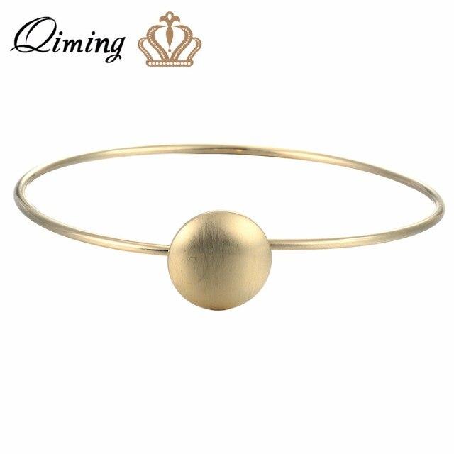 Aliexpress.com : Buy QIMING Original Design Gold Bracelets Vintage ...