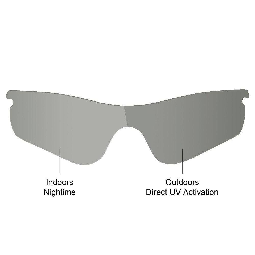 69ed5f73e6e09 Mryok POLARIZADA Lentes de Reposição para óculos Oakley Photochromic  RadarLock Caminho Óculos de Sol Cinza em Acessórios de Acessórios de  vestuário no ...