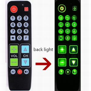 Image 5 - 21 زرًا يتعلمون جهاز التحكم عن بعد مع الضوء الخلفي ، وحدة تحكم زر كبيرة للتلفزيون VCR STB DVD DVB ، صندوق التلفزيون ، سهل لكبار السن.