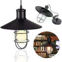 lamp shade American Style Vintage Loft Industrial Lamp Lights Lampshade DIY Sconce Home Cafe Bar abajur