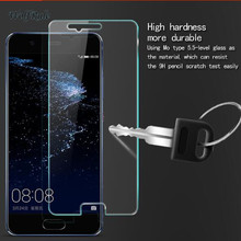 2PCS Screen Protector Glass For Huawei P10 Tempered Glass Fo