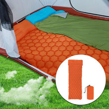 Ultralight Outdoor Inflatable Cushion Sleeping Camping Mat Sleeping Pad Mattress for Camping Hiking Backpacking Travel(China)
