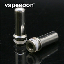 VapeSoon Stainless Steel 510 Mouth Feeling Type Drip Tip Mouthpiece For E Cigarette 510 Thread Atomizer