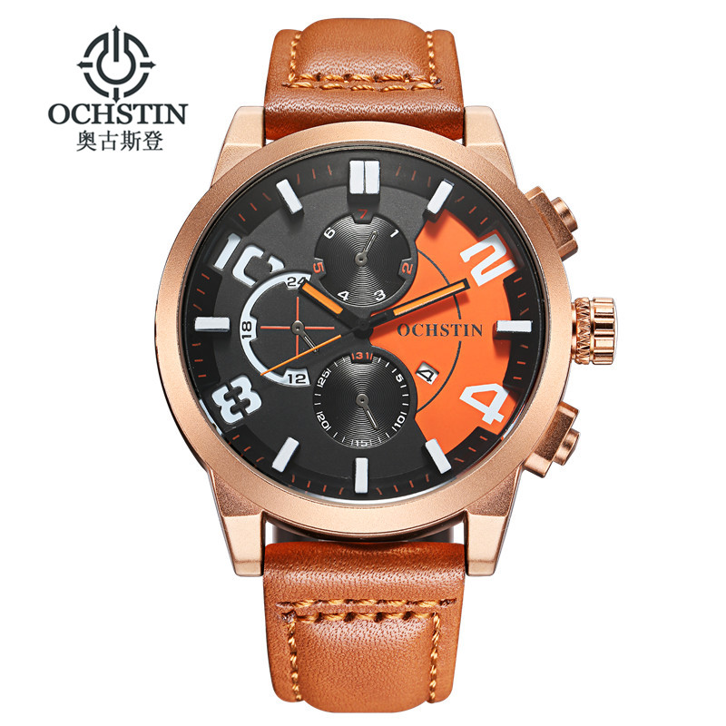 OCHSTIN 2017 Fashion Quartz Watch Men Watches Top Brand Luxury Male Clock Business Mens Wrist Watch Relogio Masculino new fashion men business quartz watches top brand luxury curren mens wrist watch full steel man square watch male clocks relogio
