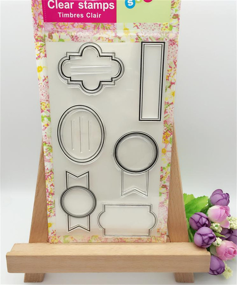 all kinds of frame  Transparent Clear Silicone Stamps for DIY Scrapbooking Card Making Kids Christmas gift card CL-217 free shipping 3 kinds of transparent padlocks for learner practice