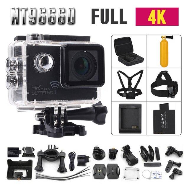 Действий камеры суд оригинальный камера спорта deportiva дистанционного ultra hd 4 wi-fi 1080 P 60fps 2.0 4 К спорт go pro камеры водонепроницаемый