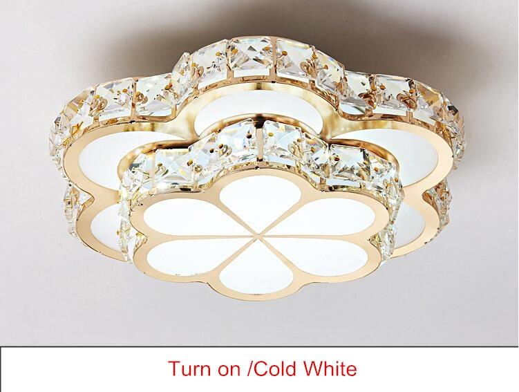 HTB1C9N XN rK1RkHFqDq6yJAFXad Chandelier Ceiling Light | Crystal Ceiling Lights | Flower Design Chandelier Lamps Gold Led Plafonnier For Aisle Lustre Corridor Balcony Ceiling Lamparas Home Light 001