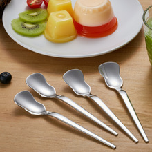 Good Quality 304 stainless Steel Coffee Spoon Retro Irregular Tea Stirring Spoons Exquisite Kitchen Sugar Measuring Tool Gifts