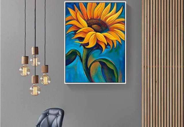 European home painting canvas module painting machine printing ...