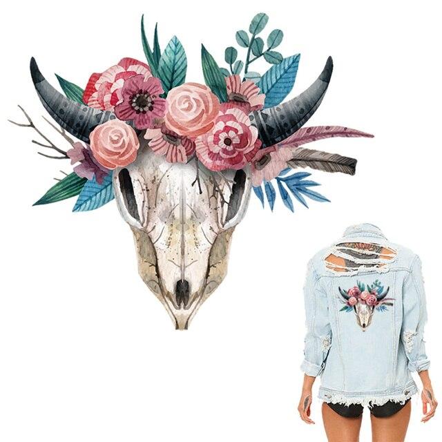 Colife цветок животных Нашивки 23*20 см патч для одежды футболка Платья для женщин Наклейки украшения Тепло Пресс аппликация