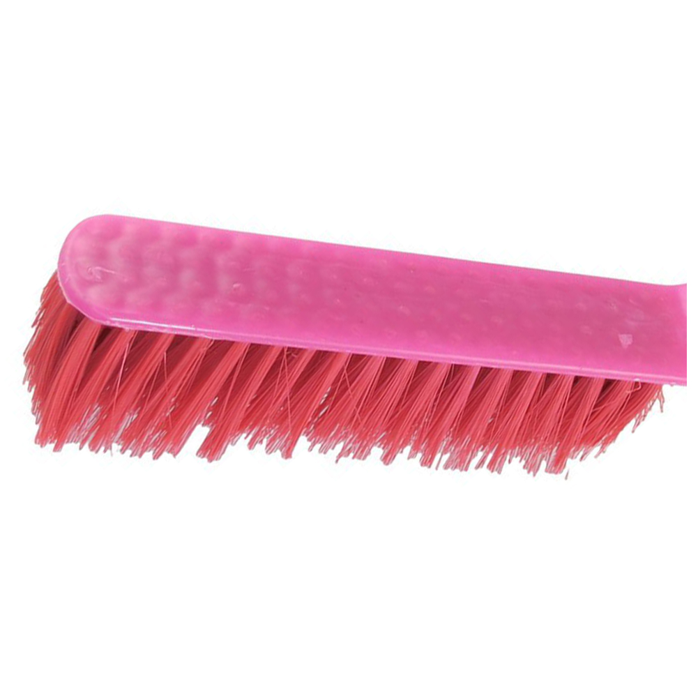 HOT-Plastic Grip Soft Bristle Carpet Bed Sheets Clothing Cleaning Brush