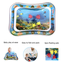 Toy Inflatable Play-Mat Water-Cushion-Pad Center Activity Baby Crawling Tummy-Time Infant