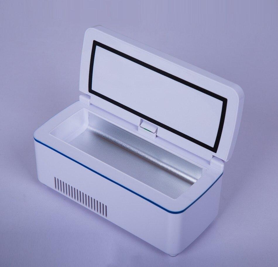 New Portebla Insulino Cooler Case Drugs Diabetics Insulino Voyage Case Cooler Pill Case Diabetics Medication Cooler Refrigerator