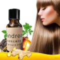 New Trendy Hair Growth Pilatory Essence Ginger Oil Hair Loss Treatment Straightening Liquid
