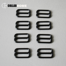 100pcs Metal belt buckles D 8 ring sliders for buckle 25mm 1 inch straps Tri-Glide adjustable collar bag accessories
