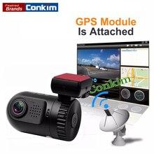 On sale Conkim Car Camera  Ambarella A7LA50 OV4689  With GPS Logg HD 1296P 135 Degree Car DVR Camera Dashcam Video Registrator Recorder