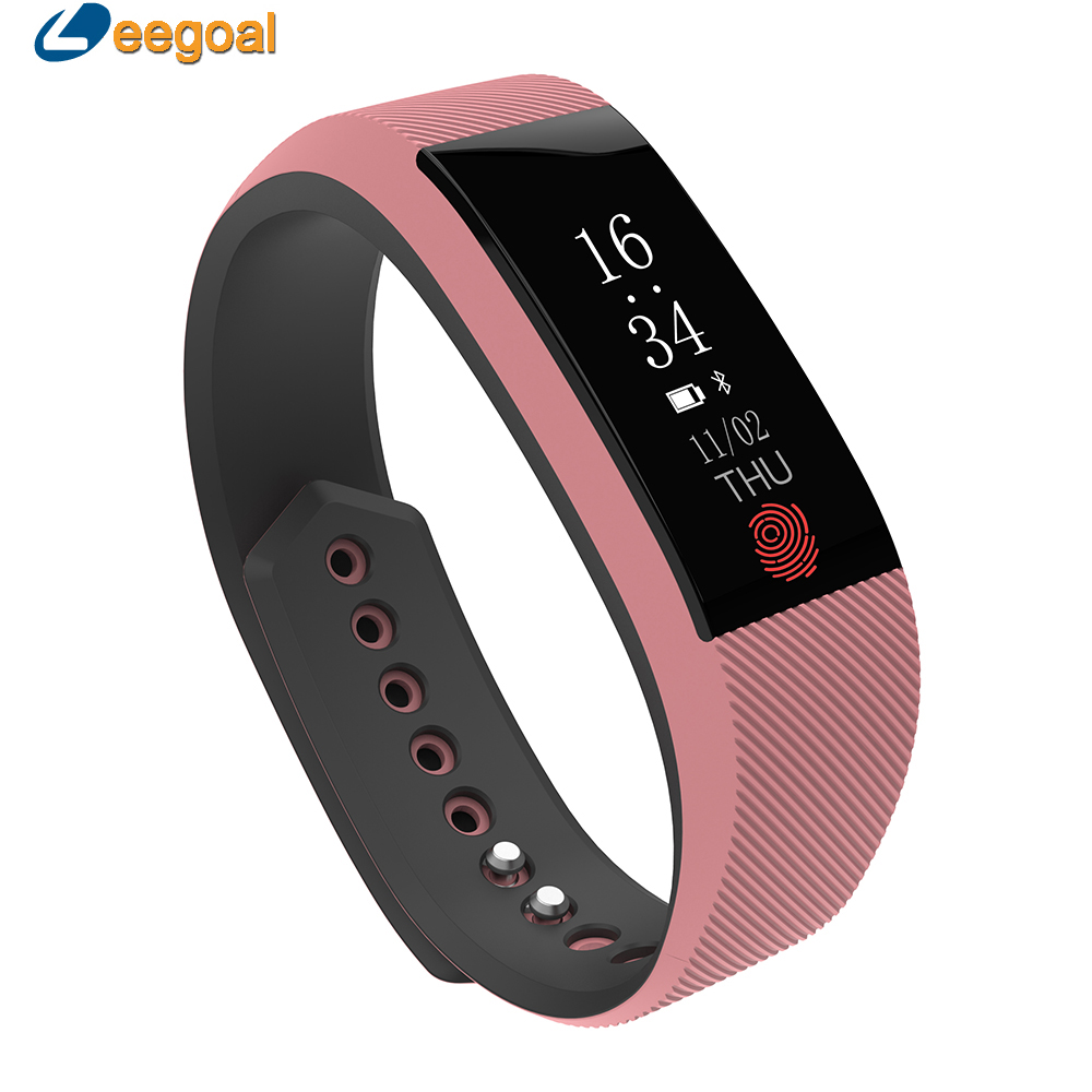 W808S Fitness Bracelet Heart Rate Smart Wristband Activity Tracker Watch Pedometer Call Reminder IP67 Waterproof Smart