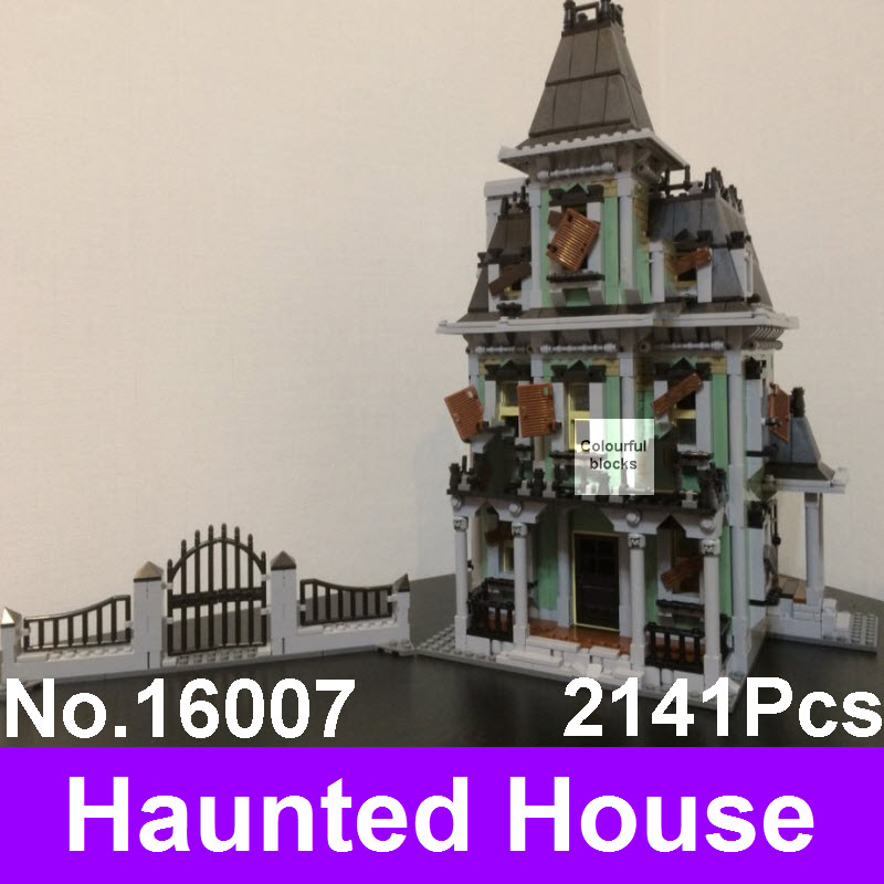 2017 Lepin 16007 2141Pcs Monster Fighter The Haunted House Model set Building Kits Blocks Bricks For Kids Compatible With 10228 куплю москвич 2141 в костроме