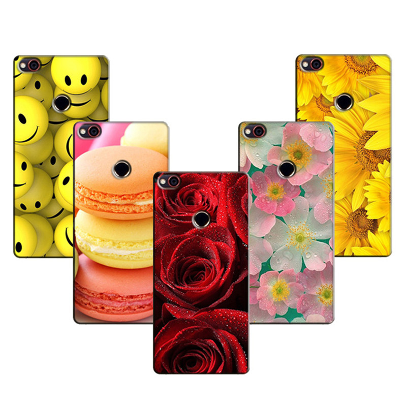 Phone Cases for ZTE Nubia Z11 MiniS Case Luxury Printing Flower Case Cover for ZTE Nubia Z11 Mini S Back Silicon Covers