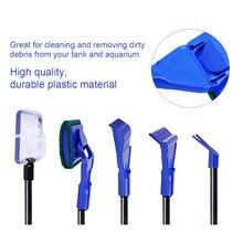 5 в 1 многофункциональный инструмент для очистки аквариума высокое качество, прочный пластиковый набор для очистки аквариума