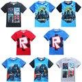 Novo 2017 Verão Crianças roupas de Bebê das meninas dos meninos star wars camisetas crianças nova meninos roupas de star wars t-shirt de star wars filme