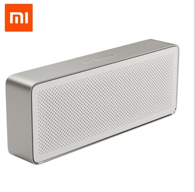 Оригинальная Колонка Xiaomi, пенал Xiaomi Bluetooth 4,2, 2 квадратные стереодинамики, Портативная колонка высокого разрешения, качество звука