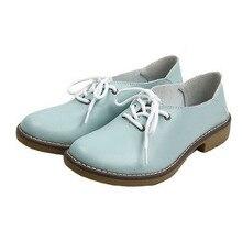 Women Casual Shoes Split leather Oxford shoes for women flats new 2016 Autumn boots Fashion women shoes moccasins p7D19