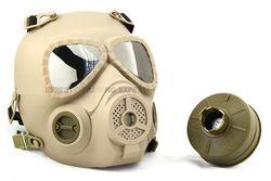 Festa máscara Anti Nevoeiro Airsoft Full Face Máscara de Gás De Proteção Estilo Turbo Ventilador Sistema MO4 TAN OD máscara facial
