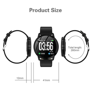 Image 5 - Elegante Smart Uhr Frauen 1,22 zoll Großen Bildschirm Wasserdichte IP67 Herz Rate Blutdruck Tracker Uhr für iPhone 7/Xiaomi