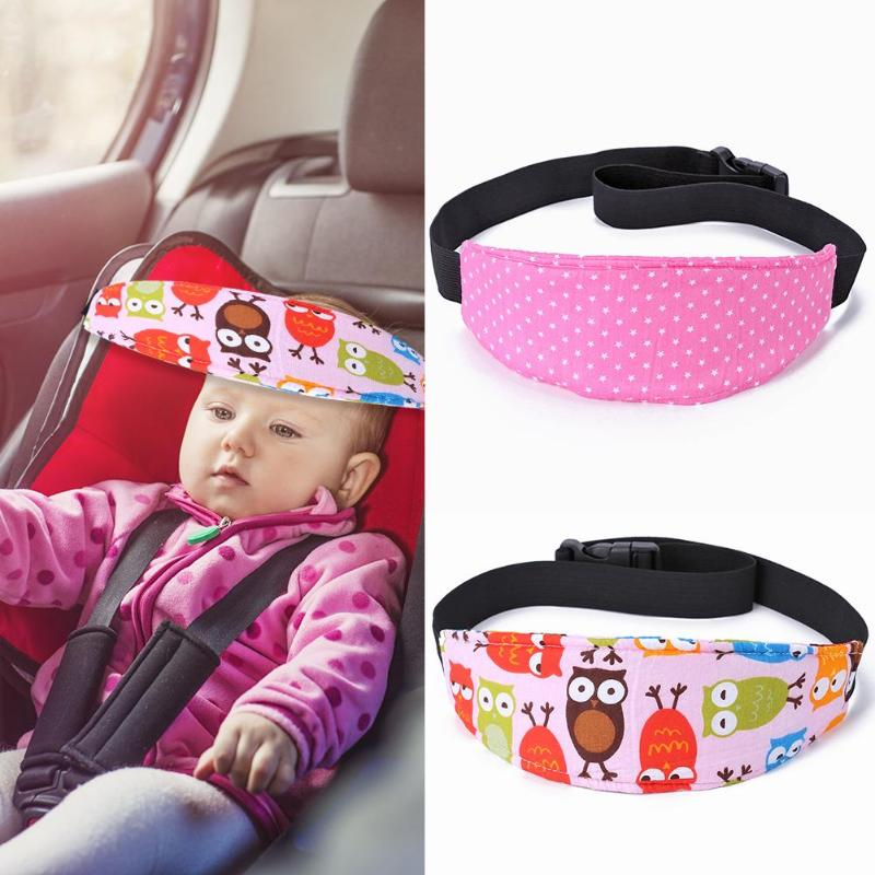Baby Seat Head Fixed Assistant With Baby Carriage Seat Belt Sleeping Fixator Adjustable Adult Traveling Nap Belt