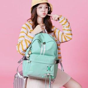 Image 5 - Tourya Fashion Anti Theft Reflective Waterproof Women Backpack USB Charge School Bags For Girls Travel Laptop Rucksack Bookbags