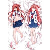Aokana: Cuatro Ritmo Todo el Azul Japonés Anime Abrazando Almohadas Cuerpo Masculino Caso Fundas de Almohada Fundas de Almohada Almohada Decorativa